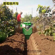 渭南履带自走微耕机果园开沟施肥机图片