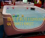 新疆金色太阳亚克力一体池婴儿游泳水上乐园戏水池供应图片