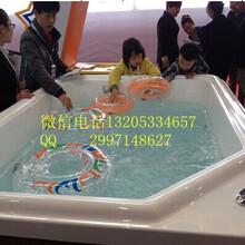 宁夏金色太阳厂家直供亚克力一体池婴儿游泳设备
