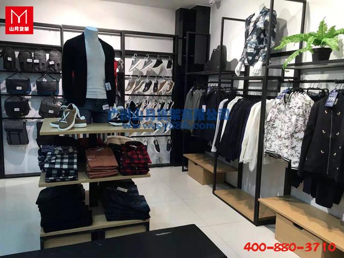 服装品牌专卖货架,服装货架,服装陈列架