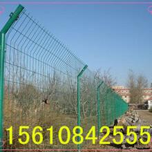 铁丝网围栏网铁路护栏铁丝防护网框架护栏网双边丝护栏网厂家