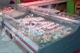 深圳超市用的鲜肉冷柜哪有卖?昊雪冷柜厂家直销