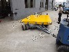 平板拖车重型平板拖车特种牵引平板拖车