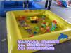 供应新款儿童决明子充气沙池游乐设备,蓝客游乐值得信赖