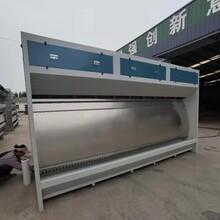 噴漆烤漆房設備廠家中博家具廠廢氣處理無塵車間設計圖片