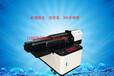 真诚6090数码uv平板打印机,双喷头印花机