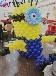 小黄人主题十岁生日派对策划场地气球布置案例参考