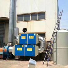 江苏轮胎厂废气吸收净化处理光氧催化环保箱