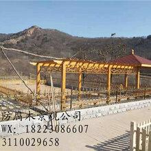 重庆防腐木廊架多少钱双桥实木花架制作景观花架价格双桥防腐木廊架图片