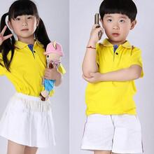 幼儿园夏装休闲运动园服图片