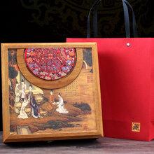木质包装盒彩印设备木质白酒酒盒uv打印机图片