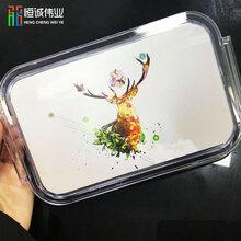 塑料外壳uv打印机创意儿童饭盒3D喷绘机PP便当盒礼品定制设备