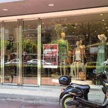 延慶安裝玻璃門公司單開雙開玻璃門安裝廠家圖片