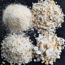 贵州黔西南石英砂批发玻璃厂用石英砂价格图片