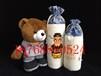 郑州厂家定制帆布面粉袋的价格定做5斤礼品棉布面粉袋