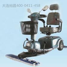 驾驶式电动尘推车操作方法