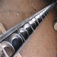 不锈钢螺旋提升机照片双轴螺旋输送机304螺旋输送机x2图片