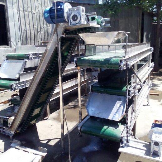 送料铝型材输送机矿用皮带机型号食品包装输送机