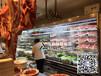 重庆渝中火锅店后厨专用菜品保鲜柜火锅食材展示柜喷雾菜品冷柜多少钱一台