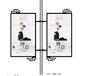 宁夏省铝合金道旗架丨灯杆幕铝合金灯杆广告道旗架定制旗丨路灯杆道旗