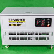 大澤動力多功能靜音汽油發電機30kw圖片