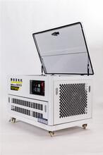 15千瓦汽油發電機帶空調圖片