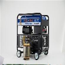 8kw柴油發電機施工車用圖片