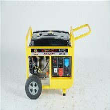 5千瓦汽油發電機工地施工圖片