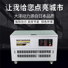 12千瓦汽油發電機消音裝置圖片
