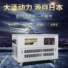 15千瓦汽油發電機投標采購圖片