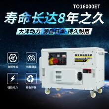 12千瓦柴油發電機停電備用圖片
