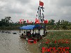 广西水库用射吸式抽沙运输自卸船DW88型矿沙设备