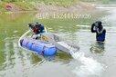 蒙古一个人采金实惠的小型河道淘金船泵吸式抽家庭提取黄金机器图片