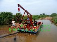 云南河道沙场小型抽沙船厂家DW上门负责安装维护以及保养图片