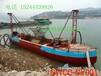 东北长春抽沙深度15米河道抽沙运输船自载自卸式省时高效