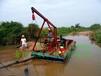 安徽岸边河道抽沙船6寸小型抽沙机利用设备直接抽送到岸距离达30米