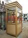 上海不銹鋼崗亭廠家鋼結構保安崗亭批發小區值班崗亭定做