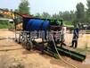 供应甘肃地区DW-TJC移动滚筒选金车适用于河滩沙选金设备