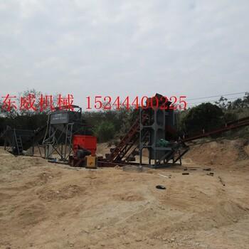 四川篩沙機針對不同工況配置不同的沙料分離作業