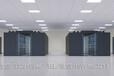 专业冷通道机房效果图制作,县检察院信息化机房建设俯视图