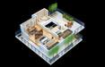 成都機房UPS效果圖制作,地產三維戶型效果圖渲染