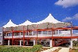 拓城干休所膜结构球场膜结构雨棚、遮阳蓬安装施工案例