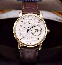 高大上卡地亚男士机械腕表优雅休闲腕表搭载原装9015机芯(零返修)