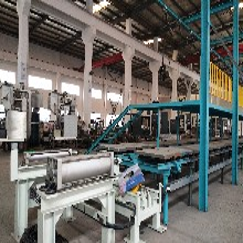 简单实用的全自动造型机流水线自动造型机流水线首选巧捷铸机