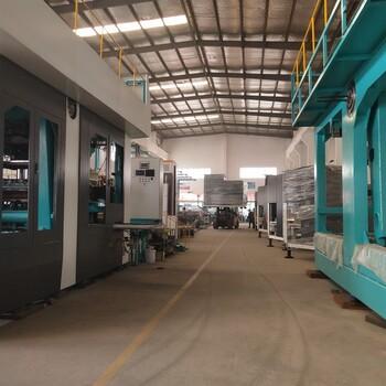 不同于别家的双工位全自动造型机巧捷生产垂直射砂双工位造型机