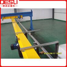 供应欧式悬挂大行车、车间用悬挂单梁起重机图片