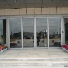 北京换配玻璃,自动玻璃门安装,中空玻璃装置快图片