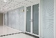 玻璃隔断玻璃门安装,玻璃雨棚