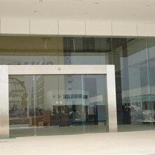 丰台区安装玻☆璃门地弹簧换中空玻璃图片