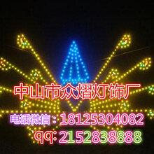 LED音符造型灯平面立体造型灯工厂直销图片